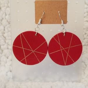 One Of A Kind Wooden Earrings
